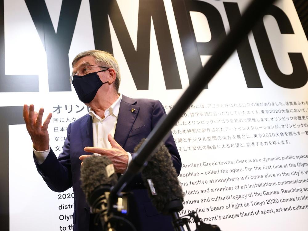 Seit 2013 ist Thomas Bach IOC-Präsident (© AFP/POOL/AFP/ISSEI KATO)