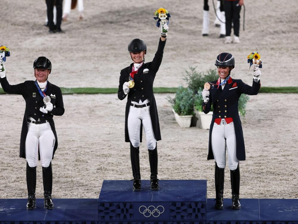 Bisher holten deutsche Athleten wenige Goldmedaillen (© AFP/SID/BEHROUZ MEHRI)