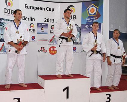 Europa-Cup der U21 in Berlin, 2. Tag - - Deutscher Judobund e.V.